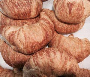 Croissants freshly baked - Fanagle the Bagel - Bagel Deli - 444 Ocean Blvd, Long Branch, NJ 07740