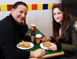 Jimmy Callano and Daughter Olivia