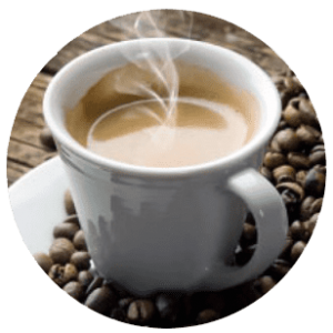 We have coffee and other hot drinks at Fanagle the Bagel - Bagel Deli - 444 Ocean Blvd, Long Branch, NJ 07740